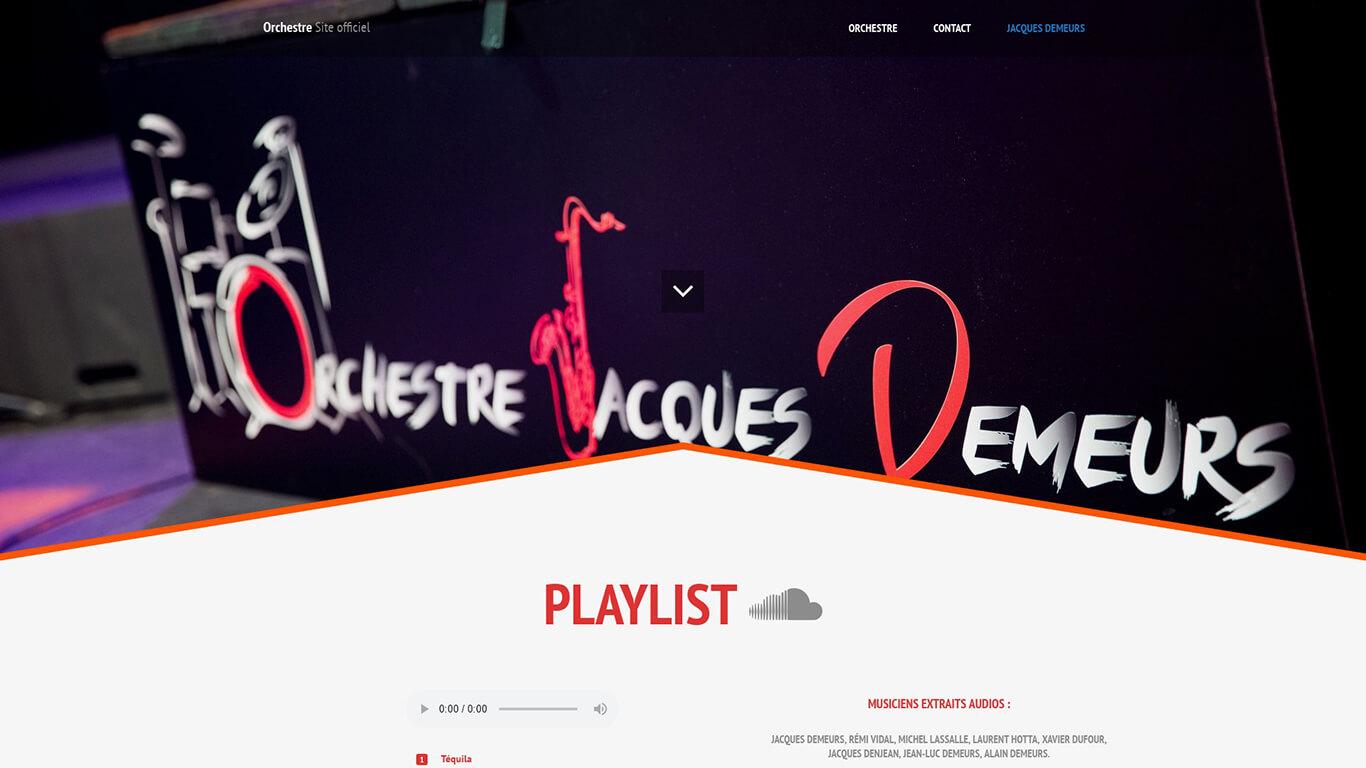 Orchestre Jacques Demeurs